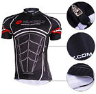 Men Cycling Bike Short Sleeve Top Shirt Clothing Bicycle Sportwear Jersey M-2XL