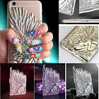 Luxury 3D Angel's Wings Design Phone Emboss Case Cover For iPhone6 6+ 4.7 5.5