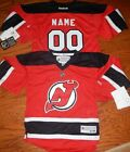 New Jersey Devils Youth  8/20 Reebok NHL Hockey Jersey add any name and number