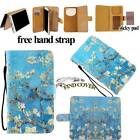 Folio Stand Card Wallet Leather Cover Case For Various LG Optimus Mobile Phones