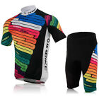 NEW Cycling Jersey Padded Shorts Bicycle Wear Outdoor Bike Clothing Size M-XXL
