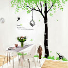 Love Birds in Tree Wall Decal Decor for Livingroom  SC4