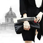 Women Ladies Clutch Evening Faux Leather Handbag Wedding Envelope Prom Party Bag