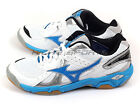Mizuno Wave Twister 4 White/Blue/Black Indoors Volleyball Badminton V1GC157024