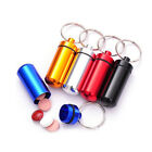 1/3/6 Pill Medicine Box Case Holder Container Capsule Key Ring Chain Waterproof