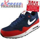 Nike Mens Air Max 1 Essentail Classic Leather Running Shoes New 2015 *AUTHENTIC*