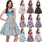 PLUS SIZE Vintage Dress 50S ROCKABILLY DRESSES Swing Housewife Retro Pinup Dress