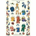Shackman Ted Queen Holden'S Nursery School Paper Doll & Clothes Set #Shk-31