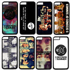 "Pop Band 5SOS Handsome Boys Hard Plastic Case Cover For Apple 5.5"" iPhone 6 Plus"