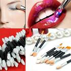 50pcs Disposable Sponge Make-Up Eye Shadow Eyeliner Lip Brush Applicator BDRG