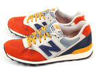 New Balance WR996GP D Orange & Blue & Yellow Lifestyle Retro Classic Sneakers NB