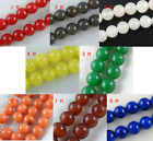 40pcs Stone Loose Beads 8colors-1 10mm
