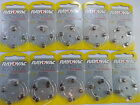 40x Size 312 10 13 Rayovac Extra Zinc Air Hearing Aids Aid UK Batteries Battery
