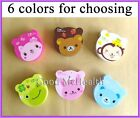 Cute Animal Face Design Contact Lens Case with Soaking Case Holder Box