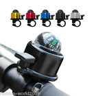Bicycle Handlebar Compass Single Ping Bell Horn Mountain Road Bike Cycle New