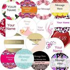 Personalised Business/Company Name Labels/stickers, Thank You Seals