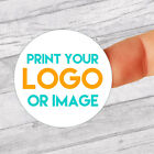Personalised 37mm Stickers Business/Company Name Round Circle Labels custom logo