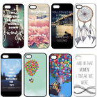 Capital Cities Up House Quote Hard Plastic Back Case For iPhone 4/4S 5/5S 5C