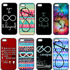 To Infinity And Beyond Hard Plastic Black Cover Case for iPhone 4/4S 5/5S 5C