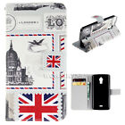 Wallet k99 PU Leather Card Stand Flip Magnet Skin Case Cover For Many Wiko Phone