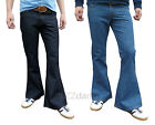 FLARES mens DENIM bell bottoms 70's vtg fancy hippie jeans Pants dress trousers