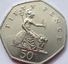 50 Fifty Pence 50p Coin Dates 1980 To 2015 Including Rare 2008 Lion Reverse