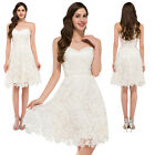 NEW LACE Evening Party Bridesmaid Wedding COCKTAIL Short Homecoming Prom Dresses