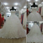 Gorgeous Handmade Sweetheart Ball Gown Tulle Wedding Dress Custom Made All Size