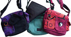 FAIR TRADE COTTON YIN YANG TRAVEL HIPPY BOHO FESTIVAL SHOULDER BAG SATCHEL