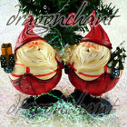 Novelty Father Christmas Santa Claus Resin Figurine Tree Present Xmas Decoration