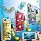 Genuine Waterproof Dust Shockproof Diving HD Camera Case For iPhone Samsung New