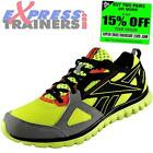 Reebok Mens Sublite Prime Running Shoes Fitness Gym Trainers Yellow *AUTHENTIC*