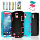 Hybrid Rubber ShockProof Protective Case Cover Skin For Samsung Galaxy S4 i9500