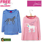 Joules Junior Ava Girls Jersey Top (T) **BNWT** **FREE UK Shipping**