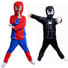 Kids Spiderman Costume Outfit 3-6 Years old S,M.L Halloween Xmas birthday gift