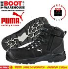 Puma Work Boots. 630527 'Sierra Nevada Black' Composite Toe Safety. WATERPROOF