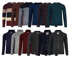 Tokyo Laundry New Men's Crew Neck Jumpers Knit Style Sweater Pullover Top