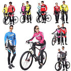 Stylestoker Cycling Long Sleeve Clothing Bicycle Sport Wear Suit Jersey Pants