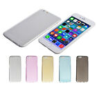Ultra thin Slim Silicone Soft TPU Gel Back Cover Case For iPhone6/6S Plus Nice