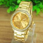 Geneva Fashion Women Ladies Girl Stainless Steel Band Analog Quartz Wrist Watch