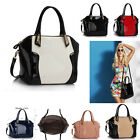 Ladies Women's Fashion Large Patent Quality Bags Handbags Tote Satchel Bag Chic