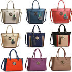 Women's Large Tote Bags Ladies Designer Faux Leather Handbags College Work