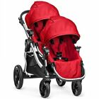 New Baby Jogger 2015 City Select Double Stroller Pram w 2nd Seat Two Seater