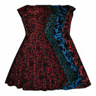 RETRO VINTAGE 50's FLOCKED WINTER XMAS ROCKABILLY SWING PARTY DRESS NEW 8 - 18