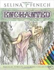 Enchanted Fairy Unicorns Dragons Art Adult Colouring Book Fantasy Forest fairies