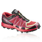 Salomon Fellraiser Womens Red Black Trail Running Sports Shoes Trainers Pumps