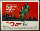 Vintage Escape From The Planet Of The Apes Mpvie Poster A3 Print