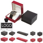 Luxury Leatherette Watch Bracelet Necklace Pendant Ring Earrings Jewellery Boxes