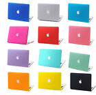 """Rubberized Hard Case Laptop Cover for Macbook Pro 13""""/15"""" Air 11""""/13"""" Retina 12"""""""