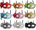 Venetian Masquerade Mask w/Rhinestones and Glitter Prom Party Halloween